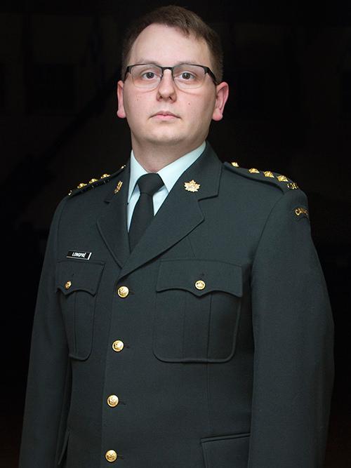 Captain Dylan J.G. Longpré